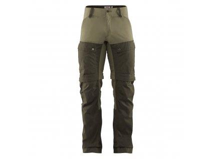 Kalhoty / kraťasy Fjällräven Keb Gaiter Trousers - Deep Forest / Laurel Green