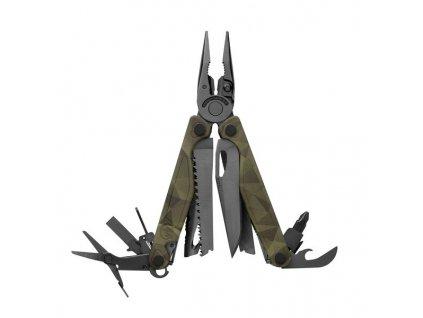 Leatherman CHARGE Plus BLACK Camo Forest - nářaďový nůž