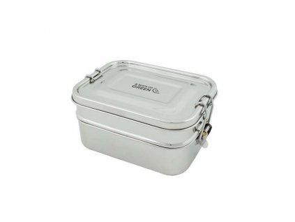 Vodotěsný jídelní box SLICE OF GREEN Lunch Box BURUNI - 600/700 ml