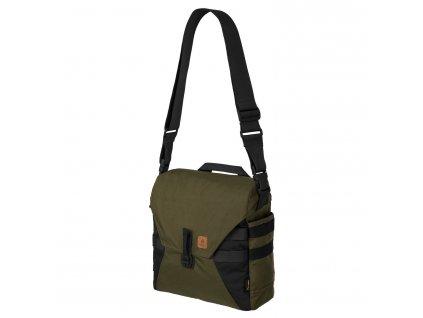 Brašna přes rameno Helikon Bushcraft HAVERSACK Bag® - Olive Green / Black