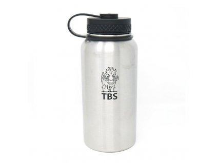 Nerezová láhev TBS Outdoor Stainless Steel Insulated 750 ml - nerez