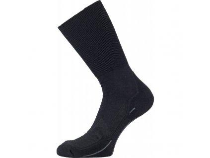 lasting merino ponozky whk cerne