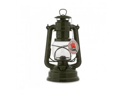 Lampa petrolejová FEUERHAND Baby Special 276 Eternity 25,5 cm OLIVE