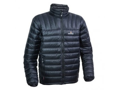 Péřová bunda WARMPEACE Drago - black