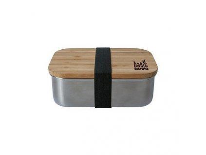 Jídelní box BasicNature LunchBox Bamboo - 800 ml