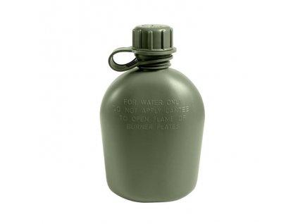 Láhev samostatná US 1 L plastová ZELENÁ