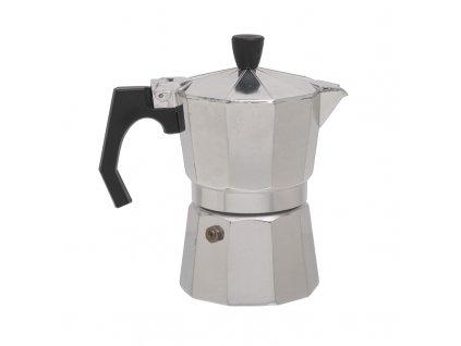 Hliníková Moka Konvice BasicNature Espresso Maker - 3 šálky