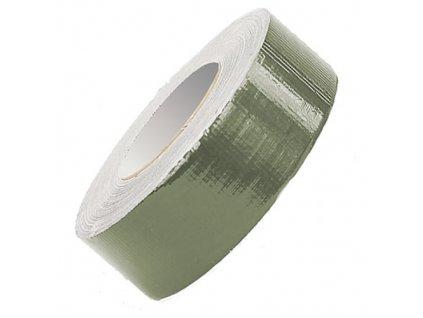 Lepící páska DUCT TAPE 5cm x 50M OLIV