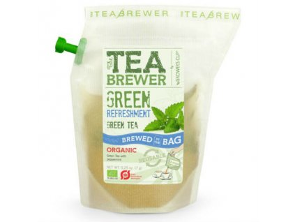 Grower's Cup Čaj - Green Refreshment Organic Green tea