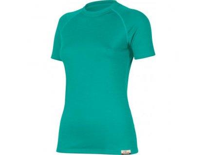 Dámské vlněné Merino triko ALEA 160g - tyrkysové