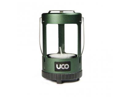 Lucerna na čajové svíčky UCO Mini Candle Lantern - Anodized GREEN