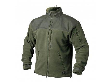 Bunda Helikon CLASSIC ARMY fleece OLIVE GREEN