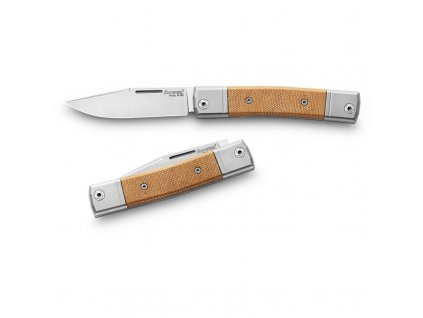 Nůž LionSTEEL bestMAN BM1 Natural Micarta
