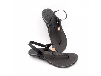 Barefoot sandály BOSKYshoes Light BUSHCRAFT Edition Black