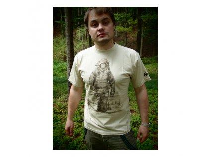 Tričko JUBÖ Bushcraft - pískové