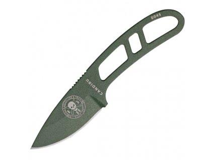 Nůž ESEE Candiru Green