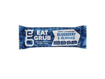 Energetická tyčinka z hmyzu EAT GRUB bar borůvky & madle