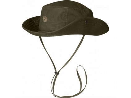 Klobouk FJÄLLRÄVEN Abisko Summer Hat - Dark Olive