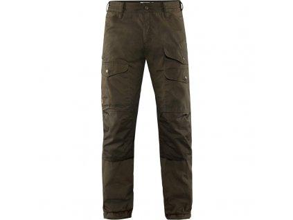 Kalhoty Fjällräven Vidda Pro Ventilated Trousers - Dark Olive REGULAR