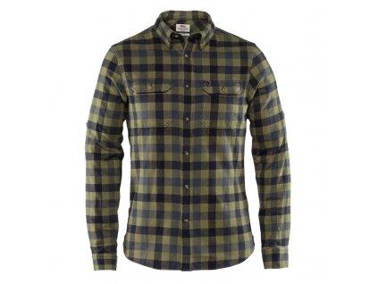 Košile FJÄLLRÄVEN Skog Shirt M - Dusk