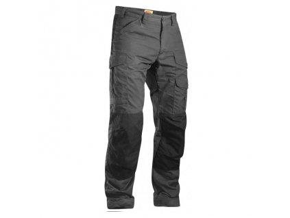 Kalhoty Fjällräven Barents Pro - Dark Grey/Black