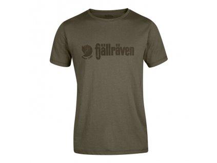 Tričko FJÄLLRÄVEN Retro T-Shirt - Tarmac