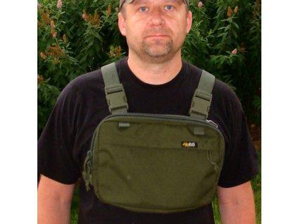 Hrudní brašna JUBÖ Front Bag Classic - zelená