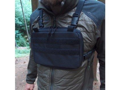 Hrudní brašna JUBÖ Front Bag MINI - černá