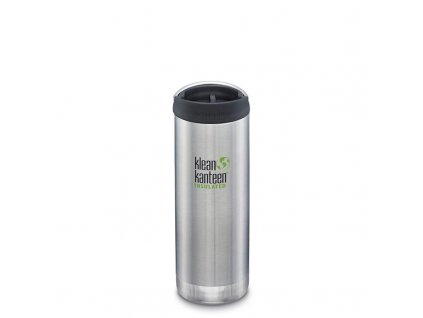 Termoska KLEAN KANTEEN Insulated TKWide 473 ml Café Cap - Brushed Stainles