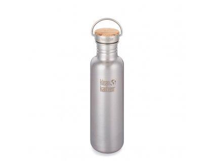 Láhev KLEAN KANTEEN Reflect Brushed Stainless 800 ml