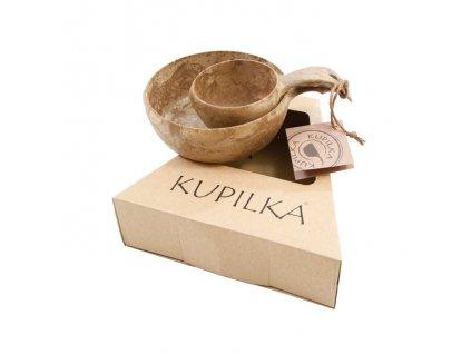 Kupilka sada KUKSA 210 ml + MISKA 550 ml - Original (BROWN)