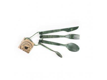 Kupilka příborová sada - Conifer (GREEN)