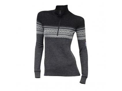 Dámský merino rolák Aclima DesignWool MARIUS Mock Neck shirt 230g - Norefjell