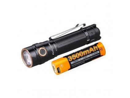 LED svítilna Fenix LD30 + USB aku 3500 mAh