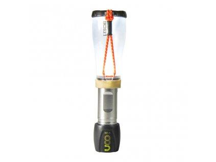 Svítilna a lucerna UCO Leschi LED Lantern - Silver Black