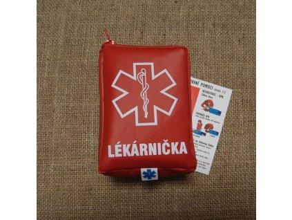 Lékárnička RESCUE First Aid - červená
