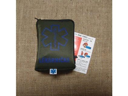 Lékárnička RESCUE First Aid - zelená