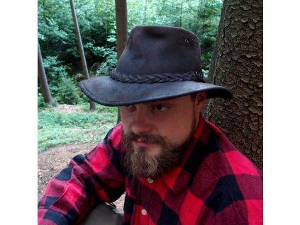 """Klobouk """"oleják"""" ROGUE Oiled Suede Packaway Hat - skládací"""