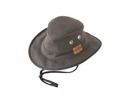 Klobouk plátěný ROGUE Munda Safari Hat - Grey