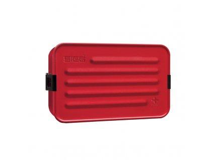 Jídelní box SIGG Metal Food Box Plus RED - 1400 ml