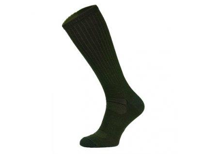 Ponožky COMODO SMP 1 - Merino - outdoor/lov - khaki