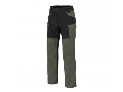 Kalhoty Helikon HYBRID OUTBACK PANTS DuraCanvas - Taiga Green / Black