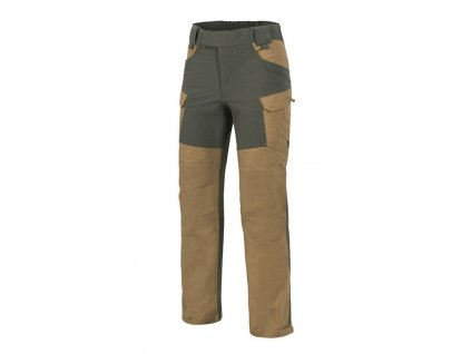 Kalhoty Helikon HYBRID OUTBACK PANTS DuraCanvas - Coyote / Taiga Green A
