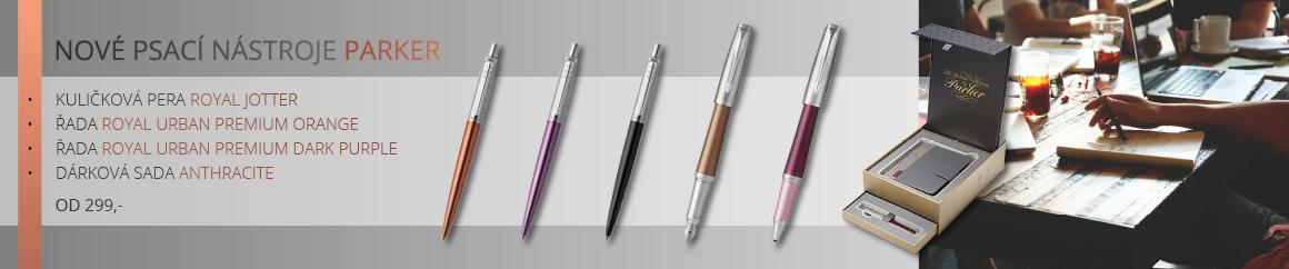 Nové psací nástroje parker