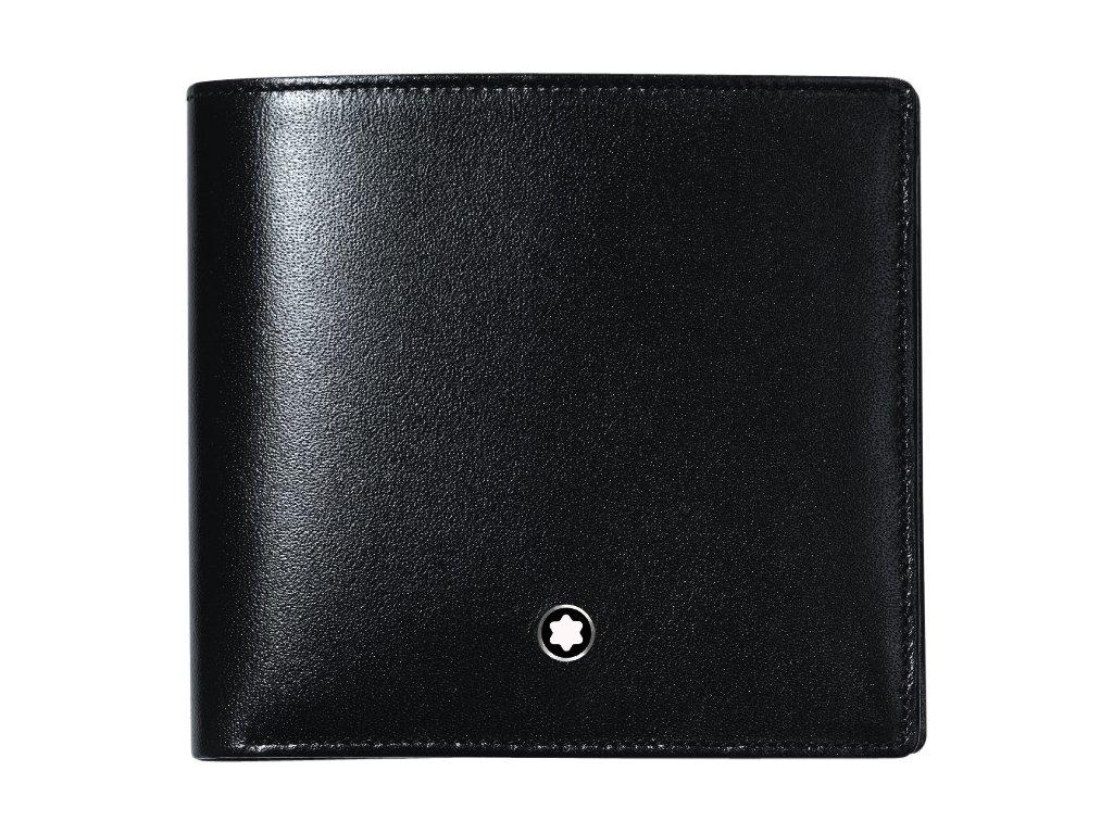 Kožená peněženka Montblanc Meisterstück Coin Black 36fc7602a1