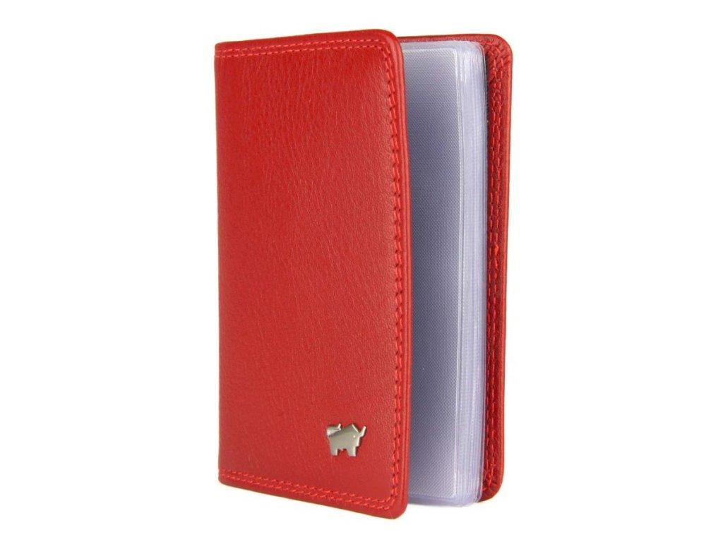 874c98c9d Braun Büffel kožené pouzdro na kreditní karty a vizitky Braun Büffel červené