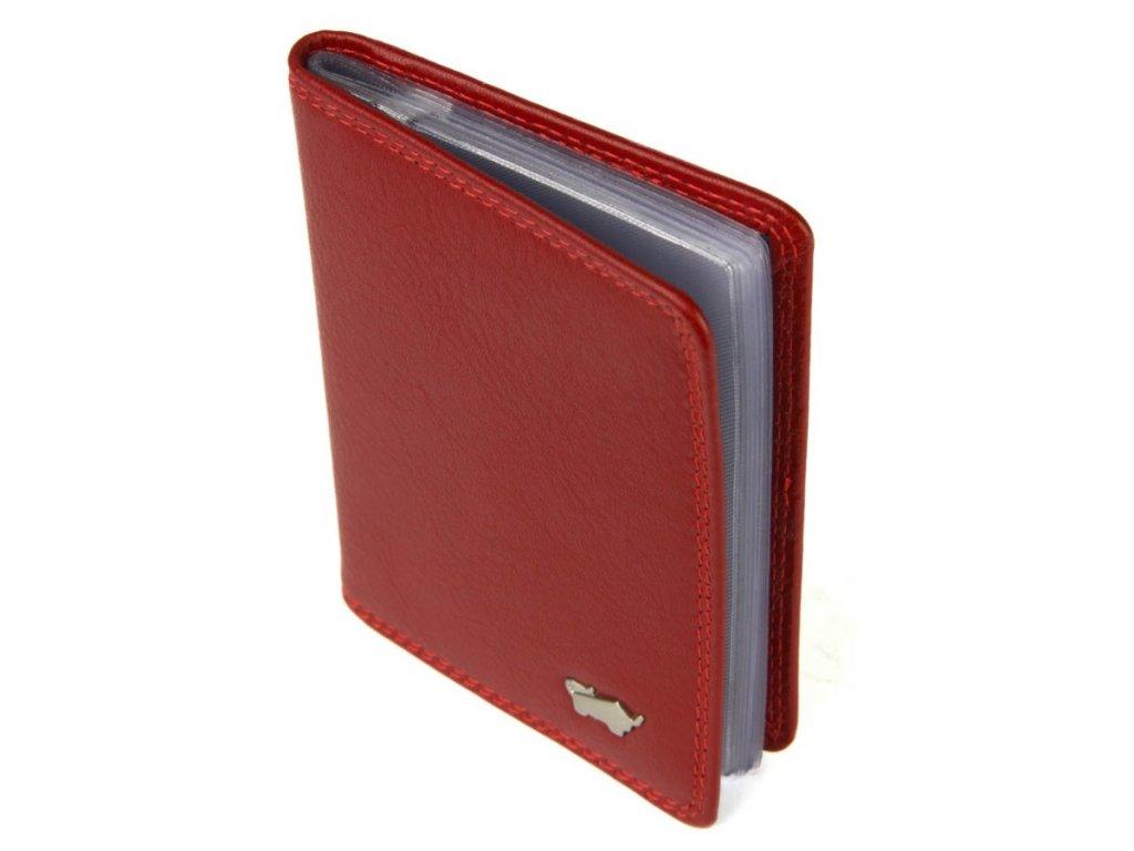 a7a4291a3 ... Braun Büffel kožené pouzdro na kreditní karty a vizitky Braun Büffel  červené
