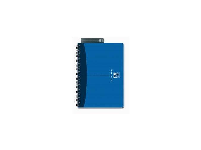 Oxford Essentials - zápisník A5, linkovaný, 90 listů, modrý