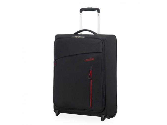 Kabinový cestovní kufr Litewing Upright 38G 40 l černá