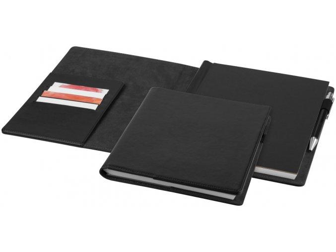 Portfolio Arun zápisník, černá sytá